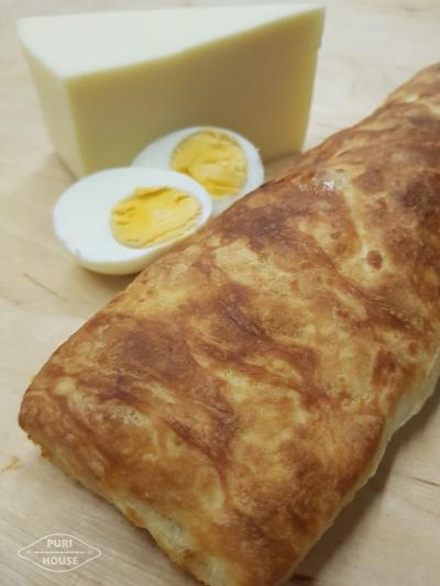 Chaczapuri jajko ser